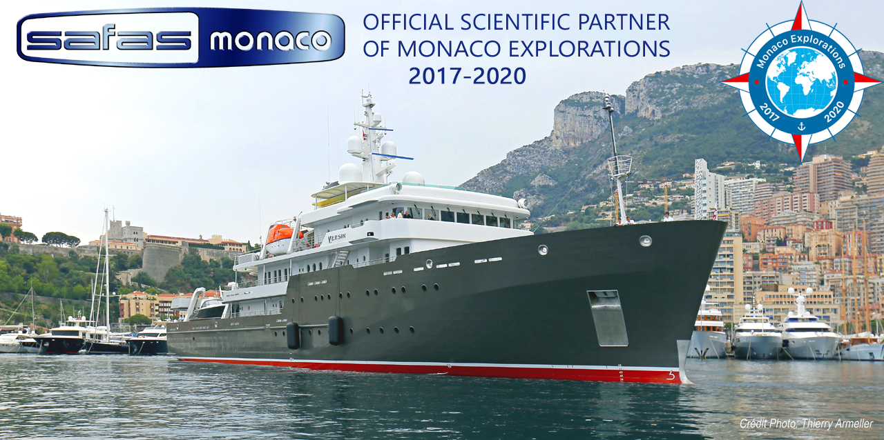 SAFAS is Official Scientific Partner of Monaco Explorations : Reconnecting Humanity with the Sea <br><span class='descslider'>Because the future of mankind is at stake, SAFAS is proud to provide to the teams of scientists of the Yersin the world's best performances, thanks to a Xenius microplate reader which fits its laboratory</span>